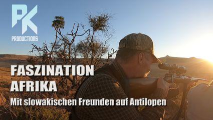 FASZINATION AFRIKA - Mit slowakischen Freunden auf Antilopen
