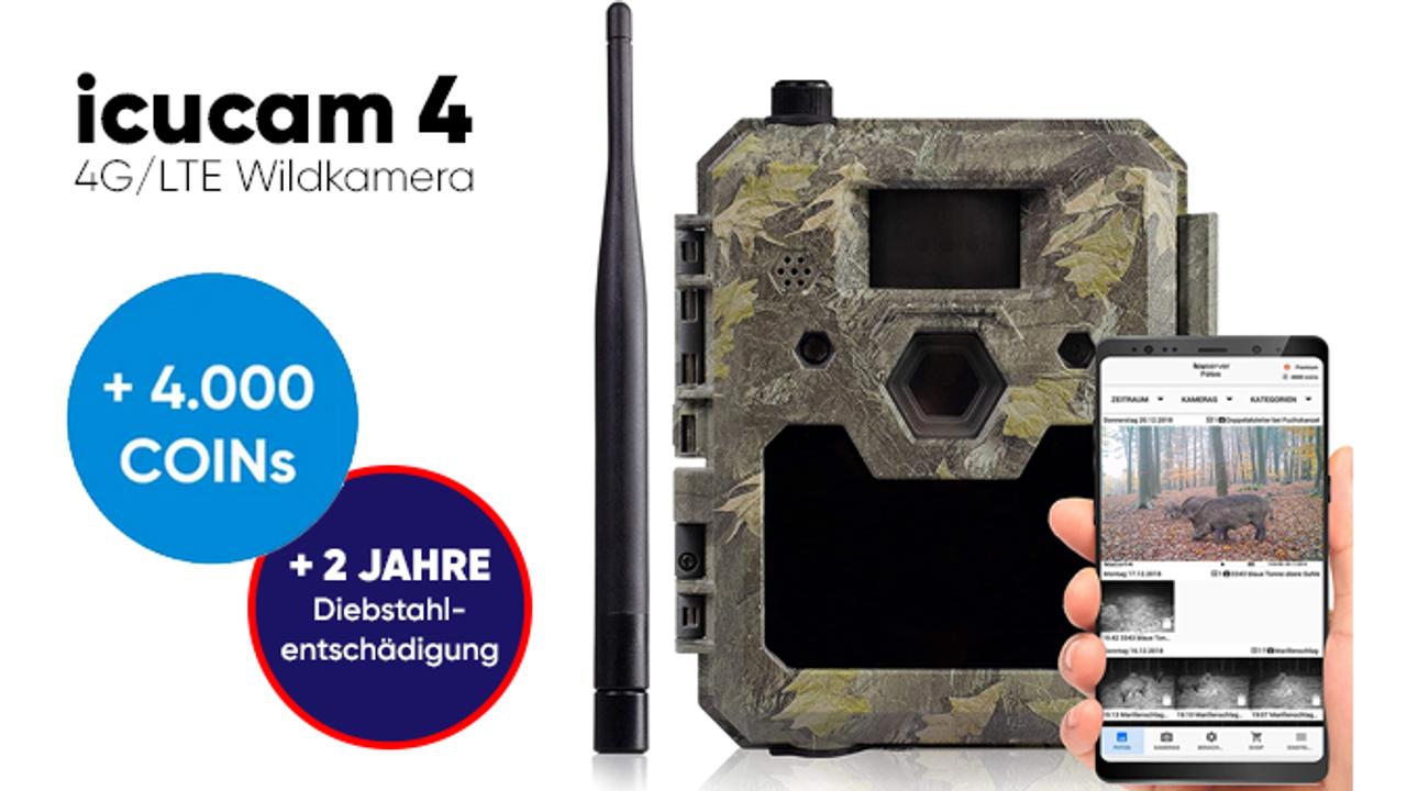 icucam 4 - 4G/LTE Wildkamera