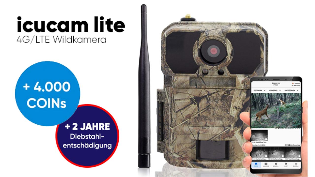 icucam lite 4G/LTE Wildkamera