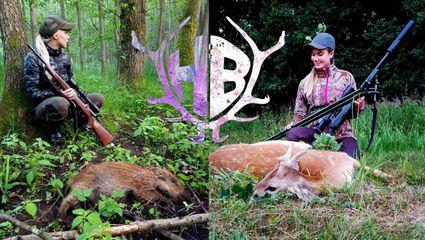 auf Pirsch mit den Jagdgirls