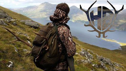 Rothirschjagd in den schottischen Highlands