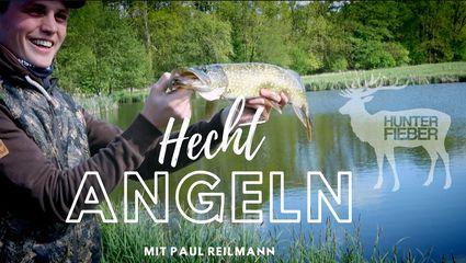 Hecht Angeln mit Paul Reilmann