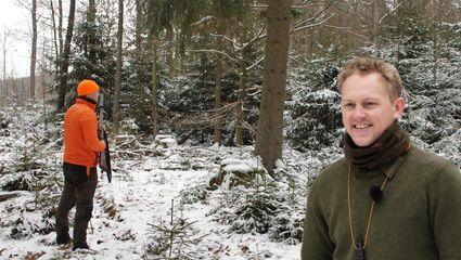 Drückjagd im zauberhaften Winterwald mit Felix Kuwert