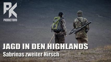 JAGD IN DEN HIGHLANDS – Sabrinas zweiter Hirsch