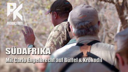 SÜDAFRIKA –  Mit Carlo Engelbrecht auf Büffel & Krokodil