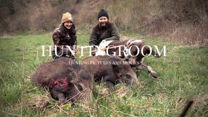 Huntingroom Jagd & Hund Premiere 2021 I Sauen im Huntingroom